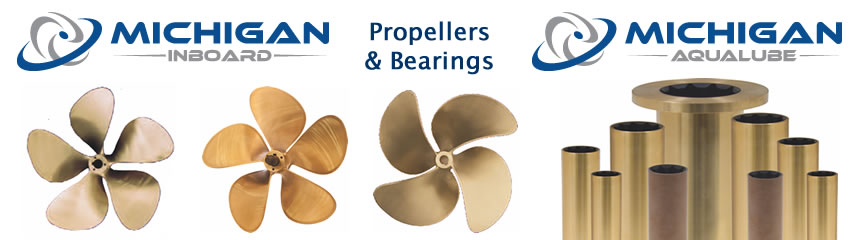 Michigan Wheel Inboard Propellers and Bearings