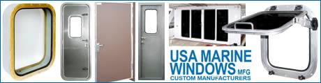 Marine Windows - Navitech - fire retardant A0 & A60 windows